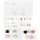 Jewelery display 468 parts including metal stand