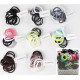 Hair tie soft 12, black without colored assorted