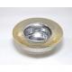 Noble glass candleholder 7,5x2,5cm,