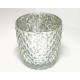 Lámpás üveg 8x8x6,5cm, hagymás - kúpos alakú,