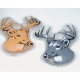 Pocket warmer in moose design, in a great PVC box,
