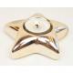 LUXURY tealight tartó XL 10,5x3cm, arany színű