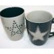 tasse de café Star Design 350ml, 2 fois assorti