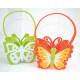 Butterfly bag XL made of felt 16x14x8cm