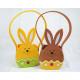 Rabbit felt bag XL 18x10x8cm (26cm including handl
