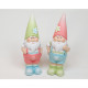 Garden Gnome XL 13x5cm 2 times assorted , made of