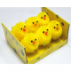 Chick set of 6 in window box 8x7.5x4.5cm