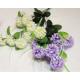 Hortensie mit 8 Blütenköpfen 60x19cm Farben sortie