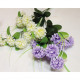 Hydrangea with 9 flower heads 60x19cm