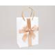 Gift bag 'satin bow' 16x11.5cm