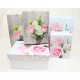 Gift box rose motif, 2- times assorted