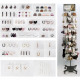 Accessories assortment 648 pieces in a metal stand
