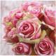 Premium napkins 20pcs 33x33cm, roses