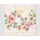Premium napkins 20 pieces 33x33cm, antique roses