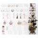Accessories assortment 588 pieces in a metal displ