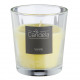 Vanilla scented candle in glass 7.5x8cm