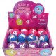 Light ball unicorn 5,5cm 4- times assorted