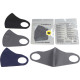 Mask fashion mouth / nose protection 3- times asso