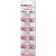 Batterie Kraftmax AG1 LR621 1.5V 10er Blister