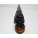 XL fir tree 16x5x5cm, attached to pine cones.