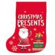 Szilárd PP anyagból készült karácsonyi táska 28x22