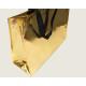 Shopper 40x33cm gemaakt van PP, glanzend goud