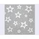 20s szalvéta, 3 rétegű 33x33cm 'White stars