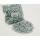 Deco flakes silver 80g in bag 25x14cm