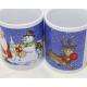 Coffee mug straight shape 350ml, 9,5x8cm