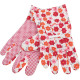 Gardening gloves Ladies colorful printed flower mo