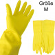 Rubber gloves medium latex