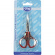 Nail scissors Elina stainless on card 9cm