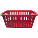 Basket 35x24x15cm RED to the presentation of the g