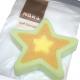 Bath sponge star shape XL 14x14x3cm