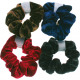 Haarzopfband velvet 9.5cm color assorted