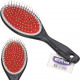 Hairbrush massage with nubs 21cm black