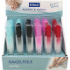 Nail files glass 14x1cm in the case 6 colors in Di