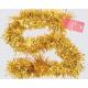 Folienstreifen Girlande gold 200cm x 10cm