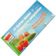 Freezer bag 1l 15s with zip closure 18x20cm