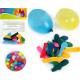 Water bomb 50pcs 9cm 5 colors assorted