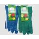 Gardening gloves men green and blue