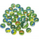 Marbles of glass pearlescent optic 50 + 1 in the n