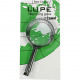 Magnifying glass 5.5x11.5cm on card