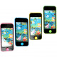 Water feature smartphone 12x5,5cm 4 colors assorte