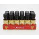 Perfume oil 10ml orange in glass bottle
