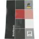 Blokk DIN A4 50 fekete kockás