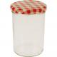 Jar / spadek szkła z pokrywką 440ml sprawdzonej