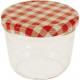 Jar / spadek szkła z wieczkiem 230 ml sprawdzonej