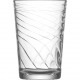Glass of water glass set of 6! 205ml with structur