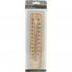 Thermometer of wood on card 22x5x0.5 cm
